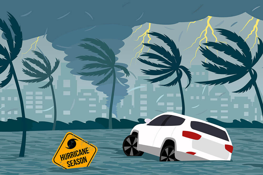 how to spot a flood damaged vehicle
